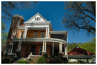 This is the Williams House in Hot Springs, Ar where we stayed...