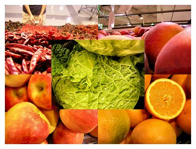 Productive photo safari... Produce department...  There's a pun in there somewhere...