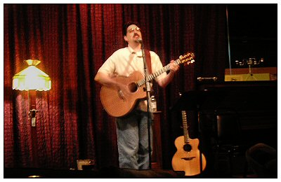 My last show at the Six String Cafe in Cary, NC..