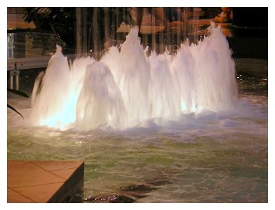 Every mall needs an indoor waterfall...