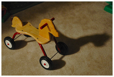 An actual Radio Flyer product...